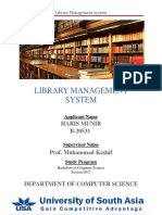 SPM Complete Project Library Management System