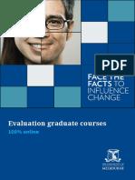 Evaluation Graduate Course Prospectus