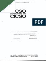 Jacoby, Roberto. - Conciencia de clase y enfrentamientos sociales en Cuadernos de CICSO. Serie Estudios 32.pdf