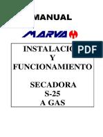 Secadoras S25 Electrica Trifasica 2012