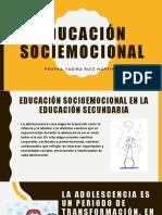 EDUCACIÓN SOCIO EMOCIONAL