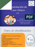 Caso Clinico fonoaudiologia