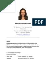 Mariana Hidalgo Curriculum Vitae