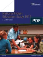 National Indian Education Study a Closer Look