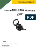 1- Informe Mecanicas de Rocas II 23-09-2018 -