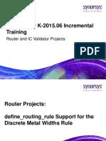 2015.06 Router ICV Incremental Training
