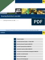 Ensuring Electricity in Java-Bali Rev