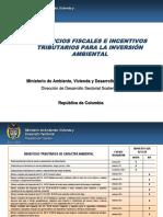 Presentacion Incentivos Tributarios MAVDT