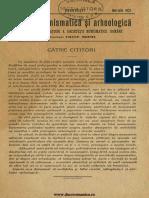 Cronica numismatică și arheologică, II, 1921, nr. 1-3