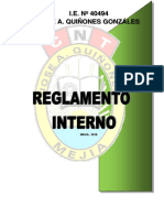 Reglamento Interno 2016 Modificado1