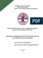 ENSEÑANZA Y APRENDIZAJE DE ESTRUCTURAS ISOSTÁTICAS CON PLATAFORMAS EDUCATIVAS EN INTERNET