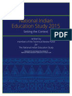 National Indian Education Study Setting the Context