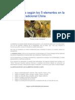 Dietoterapia según los 5 elementos en la Medicina Tradicional China.docx