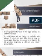 Unitarización Contenerización
