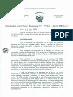 FELICITAN A INSTITUCIONES EDUCATIVAS PÚBLICAS Y PRIVADAS CUYOS ESTUDIANTES RESULTARON GANADORES EN LA EVALUACIÓN DE LA TERCERA ETAPA DE OLIMPIADA NACIONAL ESCOLAR DE MATEMÁTICA 2010.