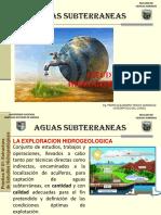 Aguas Subterráneas Clase 0 - Estructuras de Estudios Hidrogeológicos