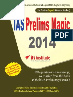 Prelims Magic Paper_I pdf | Thought | Goal
