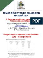 Temas Selectos de Educación Matemática - 3