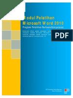 Modul + Latihan Operator - Word 2010.pdf