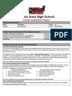 kelli hoffer - my copy of career journal requirements