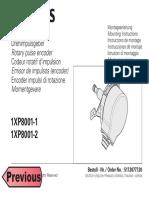 Siemens Pulse Encoder 1xp8001-X