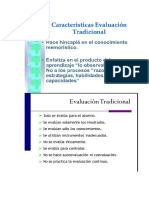 evaluacion tradicional