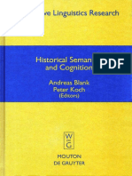 [Cognitive Linguistic Research] Andreas Blank, Peter Koch - Historical Semantics and Cognition (1999, Mouton De Gruyter).pdf