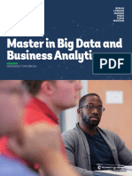 Brochure Master in Big Data and Business Analytics