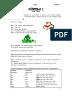 Apostila Ensino Fundamental  CEESVO - Inglês 03
