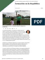 Derechos de Formación en La República Argentina _ IUSPORT_ EL OTRO LADO DEL DEPORTE