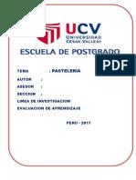 TRABAJO DE INVESTIGACION - PASTELERIA - 2017  - VILMA.docx