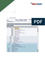 Configuration Document FI Fasttrak