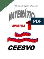 Apostila Ensino Fundamental  CEESVO - Matemática 01