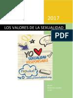 Los Valores de La Sexualidad