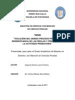 Tesis violacion debido proceso por inobservancia probatoria.pdf