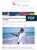 INS Virat - PM's Holiday_ at the Blue Lagoon - Indiascope News - Issue Date_ Jan 31, 1988