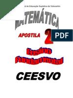 Apostila Ensino Fundamental  CEESVO - Matemática 02