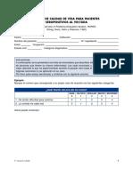 2.6.3 Escala de Calidad de Vida Para Pacientes Vih