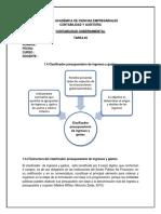 Presupuestario de Ingresos y Gastos- Estructura Del Clasificador Presupuestario de Ingresos y Gastos- Clasificación Económica de Los Ingresos y Los Gastos