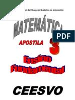 Apostila Ensino Fundamental  CEESVO - Matemática 03