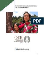 Comunidades Indigenas en Jalisco