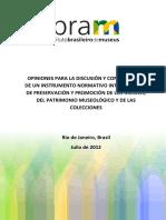 Proteção e Promoção de Museus e Coleções Final Espanol