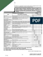 Programa de Mantenimiento t650-119