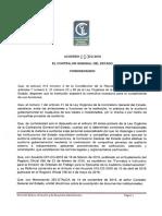 Acuerdo050 CG 2016 FormatosyCodificaciondelInstructivoparalaEmisiondeOrdenesdeTrabajoparaEjecuciondeAuditoriaGubernamental