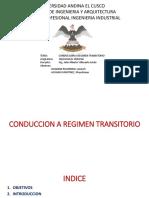Conduccion a Regmen Transitorio