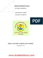 EE6351-Electrical Drives and Control_2013_regulation