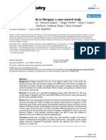 Risk factors for suicide in Hungary a case-control study