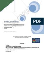Modelos  cuantitativos II