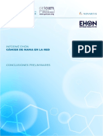 Informe Ehon Cancer Mama Conclusions Preliminares