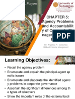 Chapter 5 Agency Problems and Accountability
